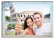 Puzzle, Pocztówka z podróży, 600 elementów