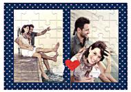 Puzzle, Ona i On, 9 elementów