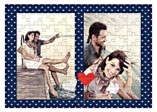 Puzzle, Ona i On, 120 elementów