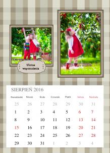 Kalendarz, Małe wielkie momenty, 30x40 cm