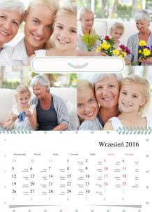 Kalendarz, Kochanym dziadkom, 30x40 cm