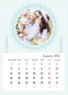 Kalendarz, Chrzest Twojego maleństwa, 30x40 cm