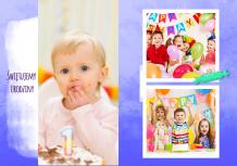 Fotoksiążka Urodziny najmłodszych, 20x30 cm