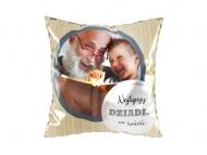 Poduszka, bawełna, Kochanemu dziadkowi, 25x25 cm