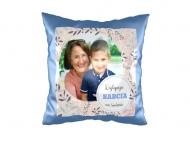 Poduszka, zamsz, Najlepsza Babcia na świecie, 40x40 cm