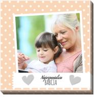 Obraz, Kochanej Babci, 30x30 cm