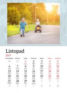 Kalendarz, Cudowne 365 dni, 30x40 cm