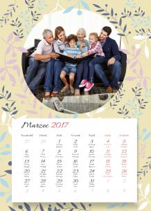 Kalendarz, Najlepsza Babcia na świecie, 30x40 cm