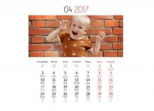 Kalendarz, Twój projekt kalendarza, 30x20 cm