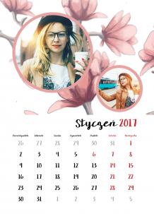 Kalendarz, Wiosna przez cały rok, 30x40 cm