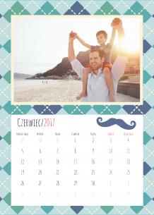 Kalendarz, Wyjątkowy Tata, 30x40 cm