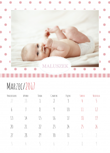 Kalendarz, Nasi milusińscy, 30x40 cm