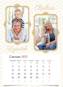 Kalendarz, Kochanym dziadkom, 20x30 cm
