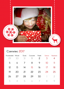 Kalendarz, Magiczny czas, 30x40 cm