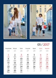 Kalendarz, Szykowny kalendarz, 30x40 cm