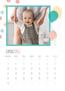Kalendarz, Mam już roczek, 20x30 cm