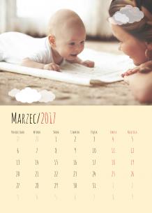 Kalendarz, Będę mamą, 30x40 cm