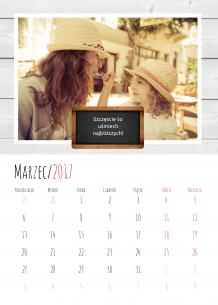 Kalendarz, Najświeższe wspomnienia, 20x30 cm
