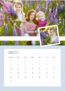 Kalendarz, Nasze wspólne chwile, 30x40 cm