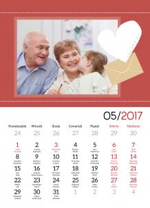 Kalendarz, Dla Babci i Dziadka, 30x40 cm