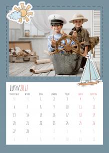Kalendarz, Dziecięce przygody, 30x40 cm