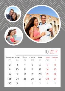 Kalendarz, Twój kalendarz na każdą okazję, 20x30 cm