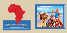 Fotoksiążka Kolorowa Afryka, 20x20 cm