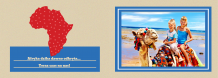 Fotoksiążka Kolorowa Afryka, 30x20 cm
