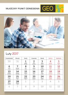 Kalendarz, Kalendarz firmowy, 20x30 cm
