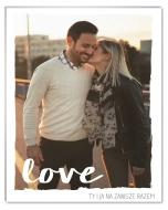 Fotopanel, To właśnie miłość, 13x18 cm