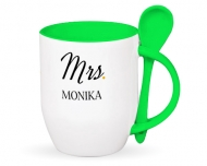 Kubek z łyżeczką, Mr. & Mrs. II