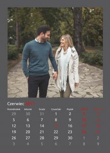Kalendarz, Klasyczna elegancja, 30x40 cm