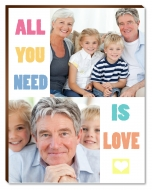 Fotopanel, All you need is love, 20x30 cm
