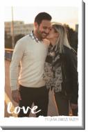 Obraz, To właśnie miłość, 60x80 cm