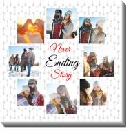Obraz, Never Ending story, 70x70 cm