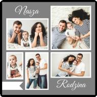 Plakat, Nasza Rodzina, 30x30 cm