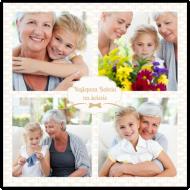 Plakat, Najlepsza Babcia na świecie, 30x30 cm