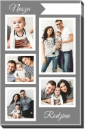 Obraz, Nasza Rodzina, 70x100 cm