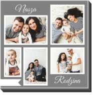 Obraz, Nasza Rodzina, 60x60 cm