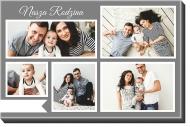 Obraz, Nasza Rodzina, 100x70 cm