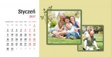 Kalendarz, Nasza rodzina, 22x10 cm