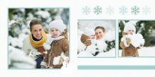 Fotokniha Naše zimné chvíle, 20x20 cm