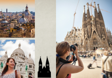 Fotokniha Naše cesta po Evropě, 20x30 cm