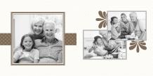 Fotokniha Z rodinného alba, 20x20 cm