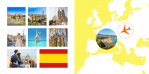 Fotokniha Španělsko - prázdninové dobrodružství, 20x20 cm