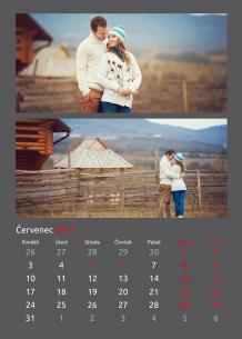 Kalendář, Klasická elegance, 30x40 cm