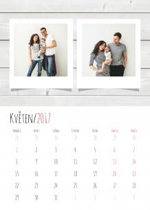 Kalendář, Nejčerstvější vzpomínky, 20x30 cm