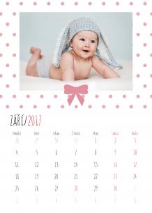 Kalendář, Naše drobátka, 30x40 cm