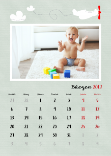 Kalendář, Mé první velké chvíle, 30x40 cm