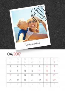 Kalendář, Tabule vzpomínek, 30x40 cm
